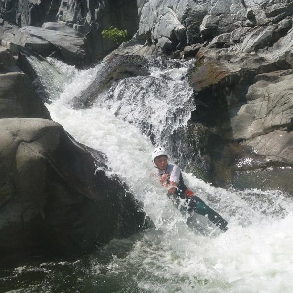 Une sortie canyoning avec Aigoual Pleine Nature